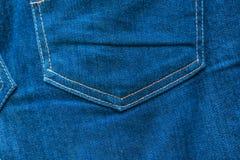 Fundo da textura da tela das calças de brim Fotografia de Stock Royalty Free