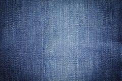 Fundo da textura da tela das calças de brim da sarja de Nimes para o projeto Foto de Stock Royalty Free