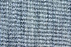 Fundo da textura da tela das calças de brim da sarja de Nimes para o projeto Fotos de Stock