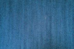 Fundo da textura da tela de calças de ganga Imagem de Stock