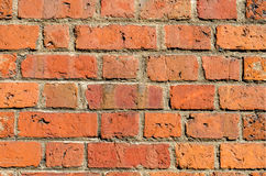 Fundo da textura da telha do tijolo vermelho Imagens de Stock Royalty Free