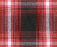 Fundo da textura da toalha de mesa do guingão Fotos de Stock