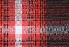 Fundo da textura da toalha de mesa do guingão Fotografia de Stock Royalty Free