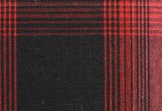 Fundo da textura da toalha de mesa do guingão Fotos de Stock Royalty Free