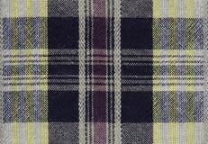 Fundo da textura da toalha de mesa do guingão Foto de Stock