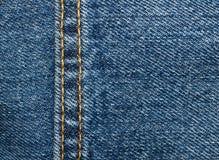 Fundo da textura de calças de ganga Fotografia de Stock