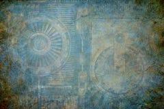 Fundo da textura de Steampunk Fotografia de Stock