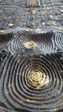 Fundo da textura do círculo de Bronz Imagem de Stock Royalty Free