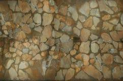 Fundo da textura do enigma da parede de pedra Fotografia de Stock