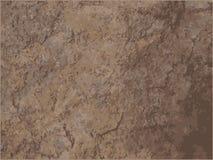 Fundo da textura do granito da pedra da sujeira do marrom de Posterized ilustração stock