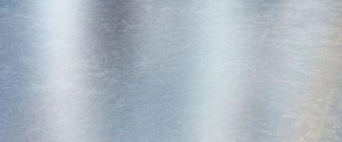 Fundo da textura do metal do azul de gelo Foto de Stock