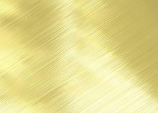 fundo da textura do metal do ouro Foto de Stock Royalty Free