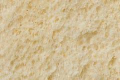 Fundo da textura do pão branco Fotos de Stock