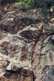 fundo da textura do penhasco da rocha Fotografia de Stock