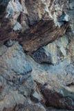 fundo da textura do penhasco da rocha Imagens de Stock