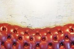 Fundo da textura do sofá Foto de Stock Royalty Free