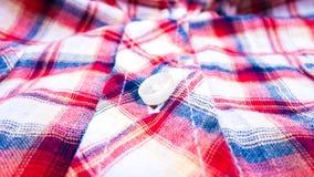 Fundo da textura do sumário da camisa da tela da tanga Fotografia de Stock Royalty Free