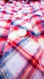 Fundo da textura do sumário da camisa da tela da tanga Fotos de Stock
