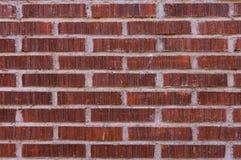 Fundo da textura do teste padrão da parede de tijolo vermelho Fotos de Stock