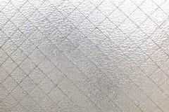 Textura do vidro geado Fotografia de Stock Royalty Free