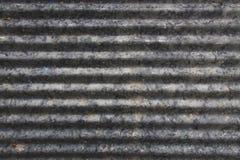 Fundo da textura do zinco fotografia de stock