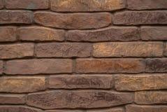 Fundo da textura escura do teste padrão da parede de tijolo fotografia de stock royalty free