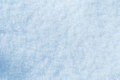 Fundo da textura fresca da neve no tom azul fotografia de stock royalty free