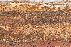 Fundo da textura da oxidação da placa de aço imagem de stock royalty free
