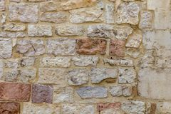 Fundo da textura da parede de pedra Imagens de Stock