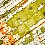 Fundo da textura da pintura do Grunge Pintura da casca no fundo oxidado do metal imagem de stock royalty free
