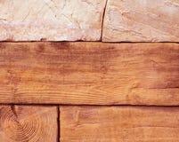Fundo da textura rica da parede de pedra Fotografia de Stock Royalty Free