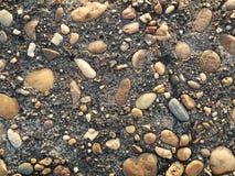 Fundo da textura da rocha da mistura do cimento Imagem de Stock