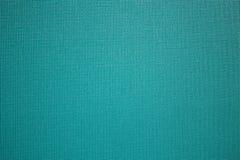 Fundo da textura da tela do azul de turquesa Textura da tela natural Fundo da tela fotografia de stock royalty free