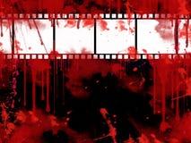 Fundo da tira da película de Grunge Fotografia de Stock Royalty Free