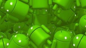 Fundo da transição de Android ilustração stock