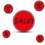 Fundo da venda Imagens de Stock