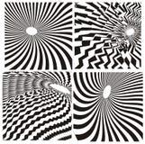Fundo da zebra ilustração do vetor
