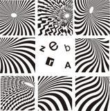 Fundo da zebra ilustração stock