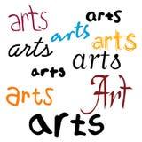 Fundo das artes Imagens de Stock