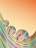 Fundo das barras coloridas. Fotografia de Stock