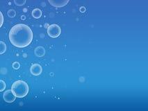 Fundo das bolhas de sabão ilustração royalty free