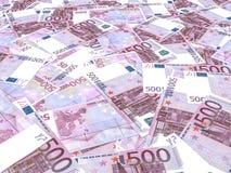Fundo das cédulas do Euro Fotografia de Stock Royalty Free