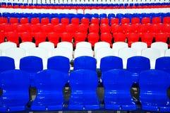 Fundo das cadeiras fotografia de stock
