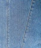 Fundo das calças de brim Foto de Stock