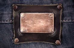 Calças de brim Fotografia de Stock Royalty Free