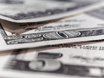 Fundo das contas de dólar fotos de stock royalty free