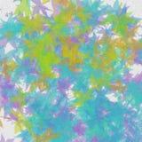 Fundo das cores de Autumn Light Textura abstrata da natureza ilustração stock