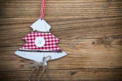 Fundo das decorações do Natal da tradição Foto de Stock Royalty Free