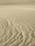 Fundo das dunas de areia no tom do sepia fotos de stock