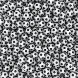 Fundo das esferas de futebol ilustração stock